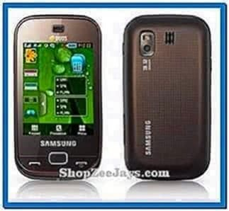 Samsung gt-b5722 screensaver