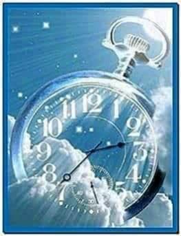 Samsung Mobile Clock Screensaver