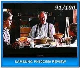 Samsung Plazma TV Screensaver