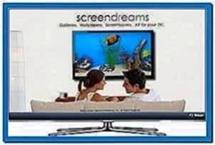 Samsung TV Aquarium Screensaver