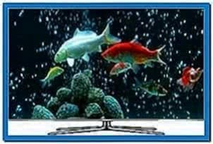 Samsung TV Aquarium Screensaver