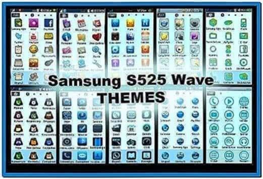Samsung Wave 525 Screensaver