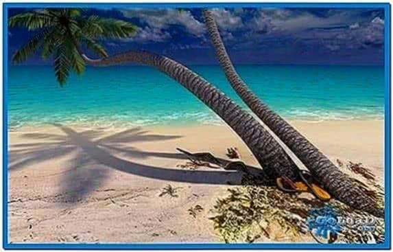 Sandy Beach 3D Screensaver 1.0.0.2