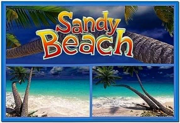 Sandy Beach 3D Screensaver 1.0.0.2