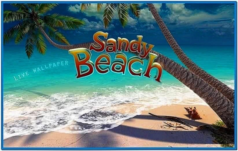 Sandy Beach 3D Screensaver