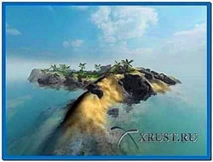 Sandy Island 3D Screensaver 1.02