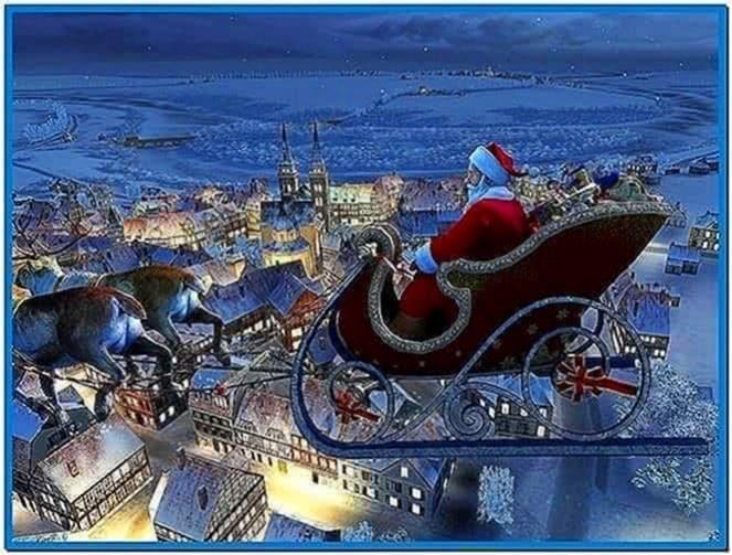 Santa Claus 3d Screensaver 1.0.0.1