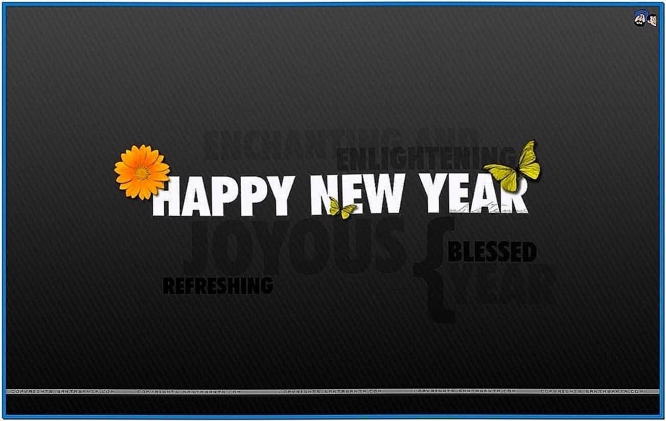 Santabanta Screensaver New Year