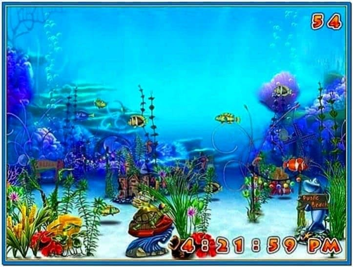 Scarica Screensaver Acquario 3D