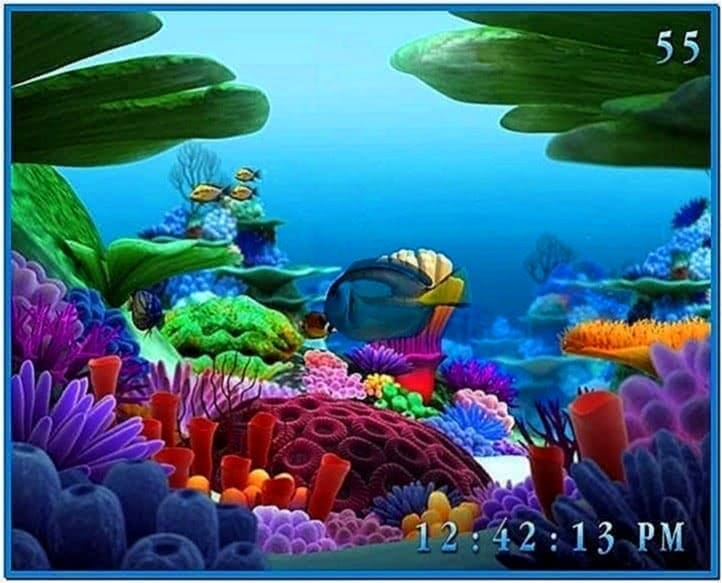 Screensaver Acquario 3D Italiano