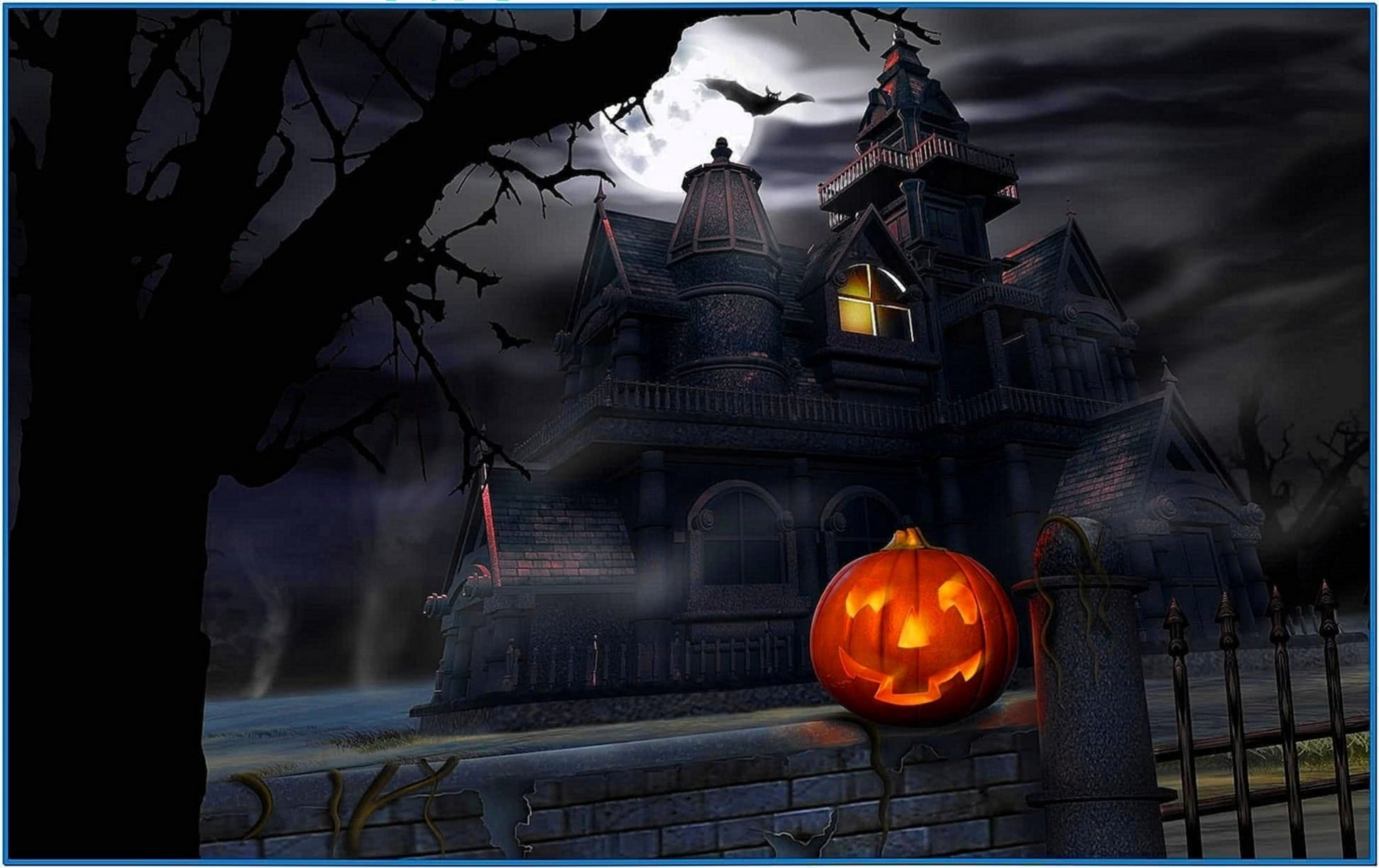 Screensaver and Wallpaper Halloween