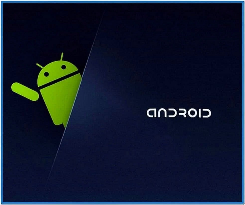 Screensaver Android Tablet