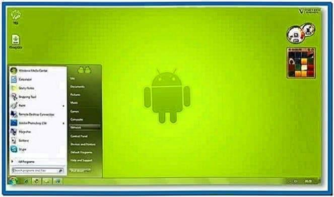 Screensaver Android Windows XP