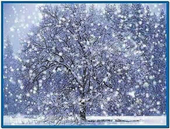 Screensaver Animated Snow