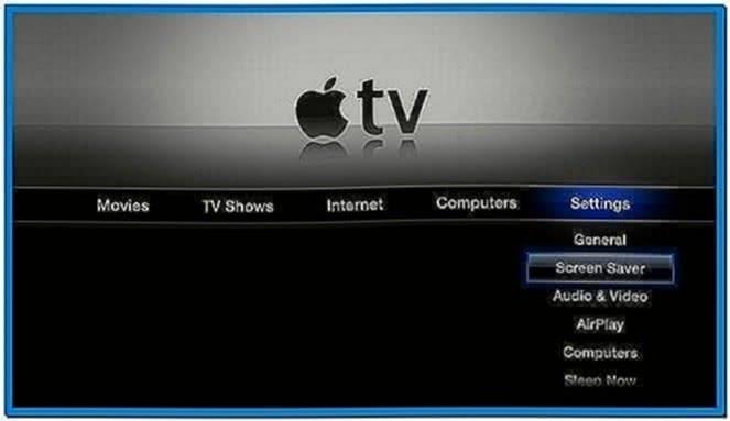 Screensaver Apple TV Iphoto