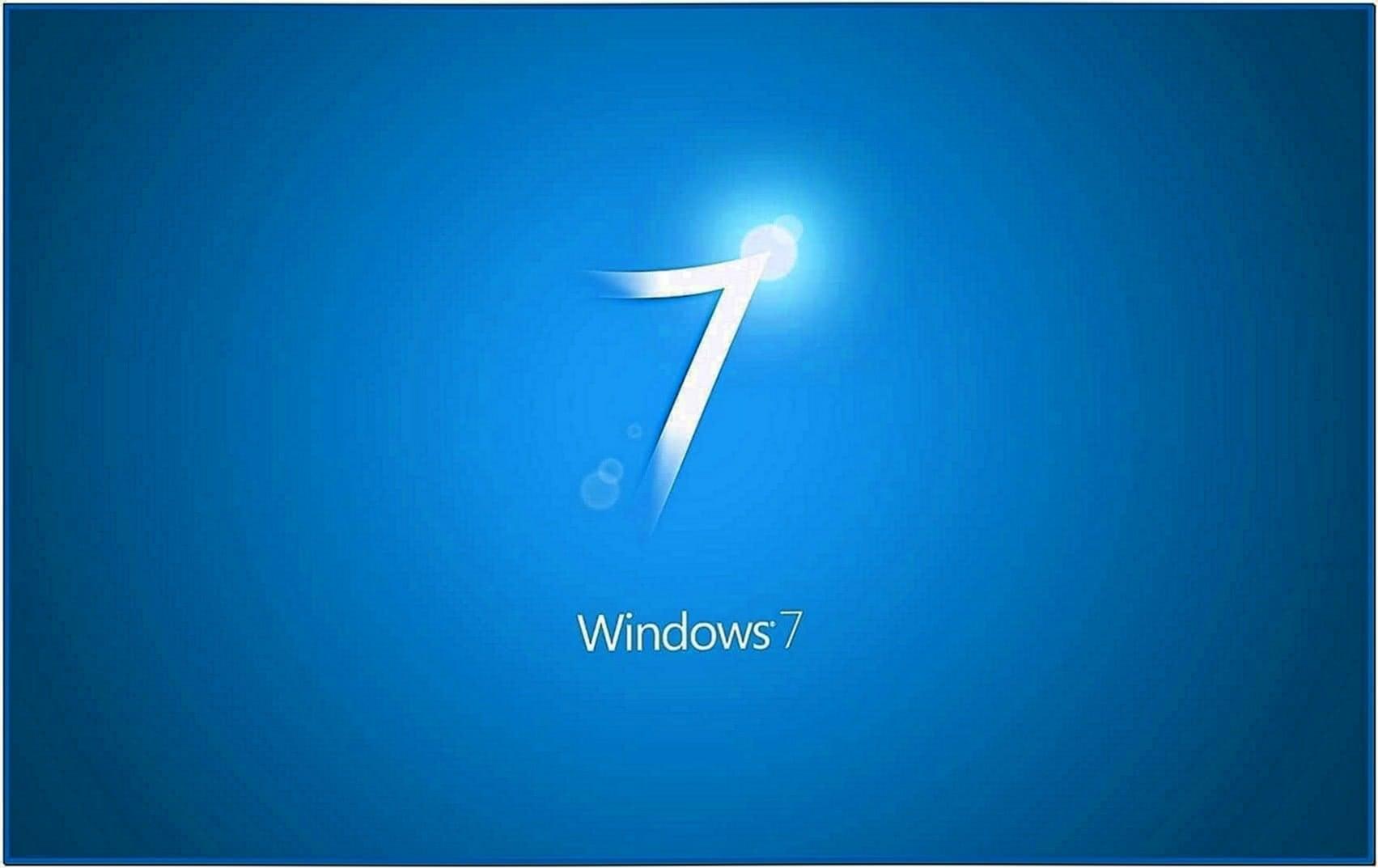 Screensaver as Desktop Background Windows 7
