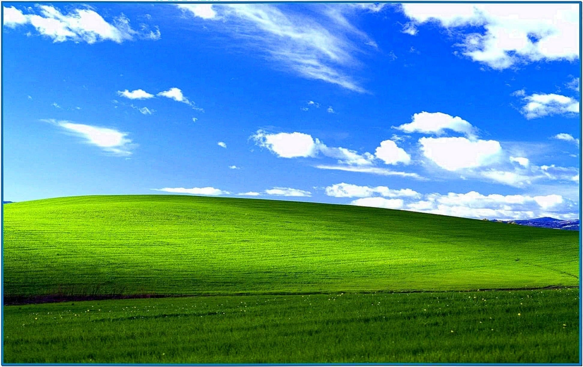 Screensaver as Wallpaper Windows XP