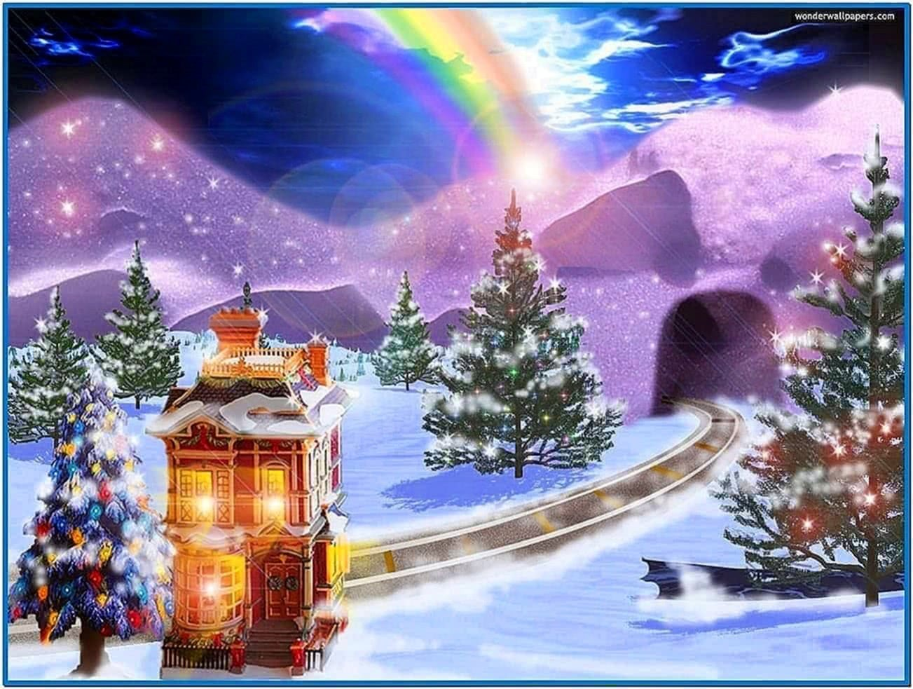 Screensaver Christmas Animation Download Free