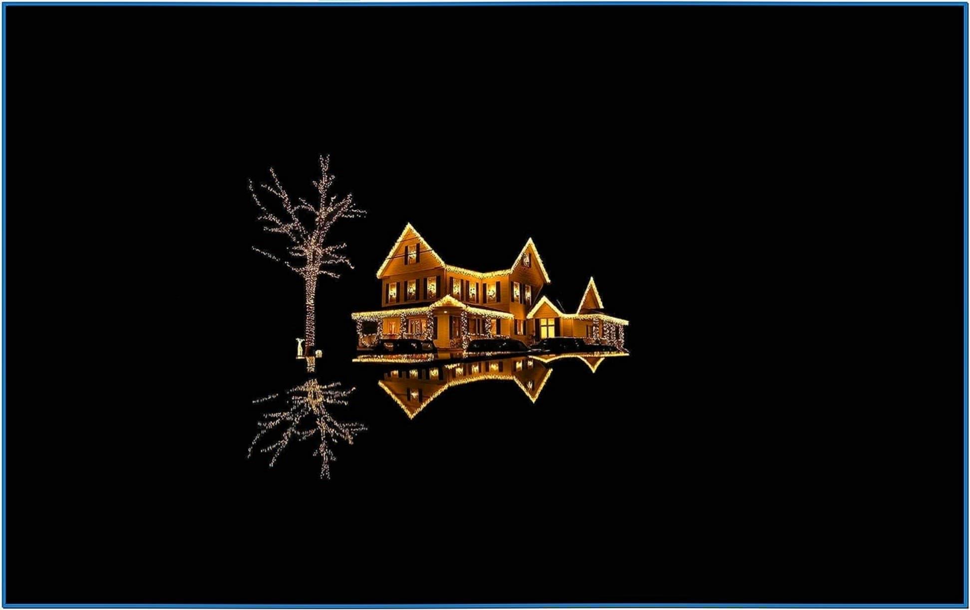 Screensaver Christmas Lights