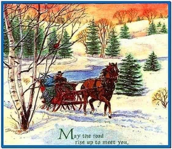 White Christmas Tree Wallpaper
