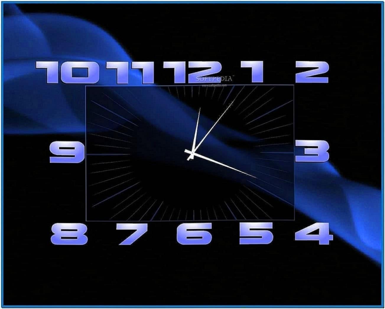 Screensaver Clock for HP