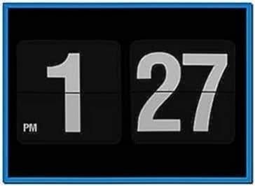 Screensaver Clock for iPhone 4