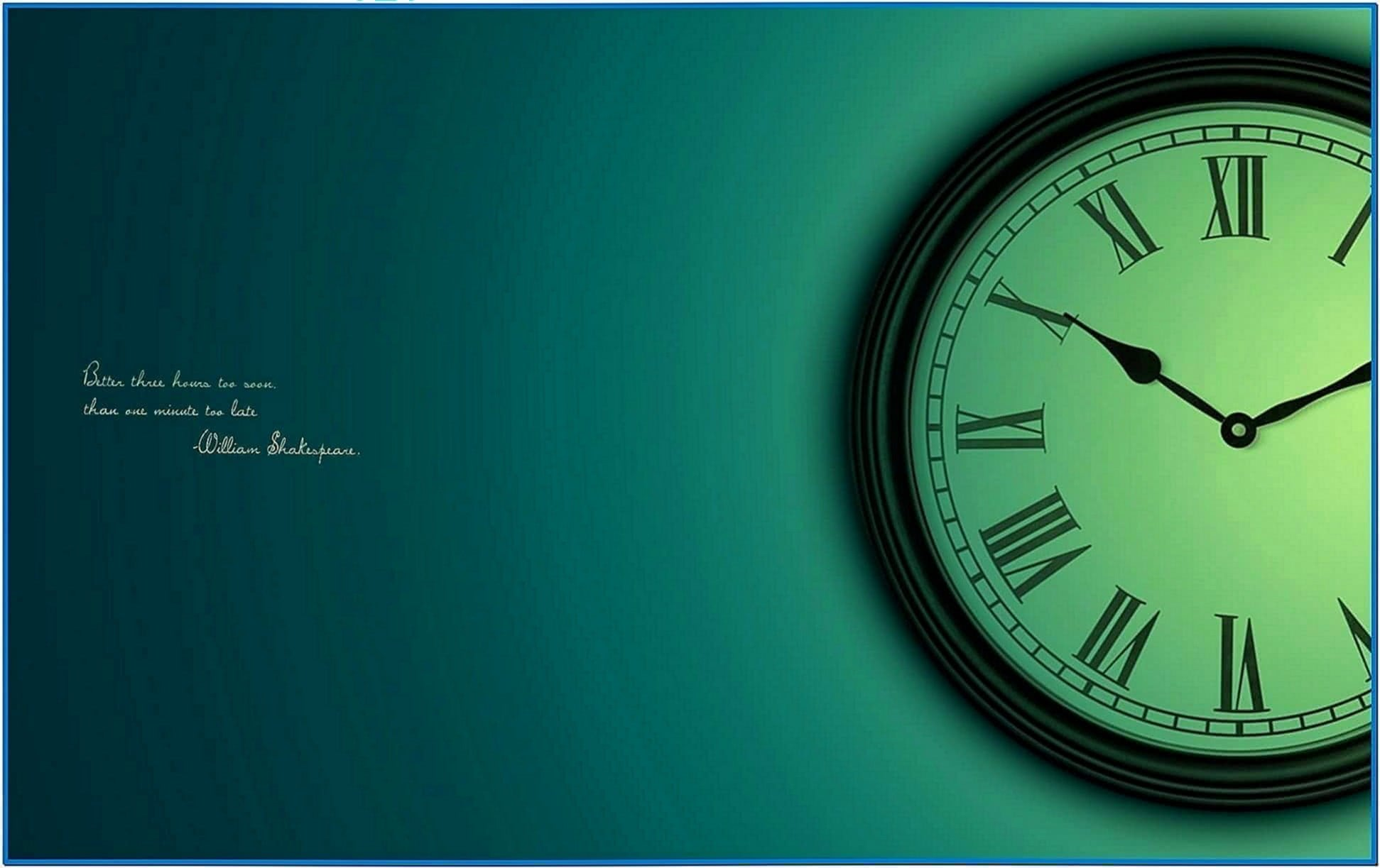 Screensaver Clock Linux