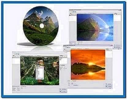Screensaver creator mobile applications