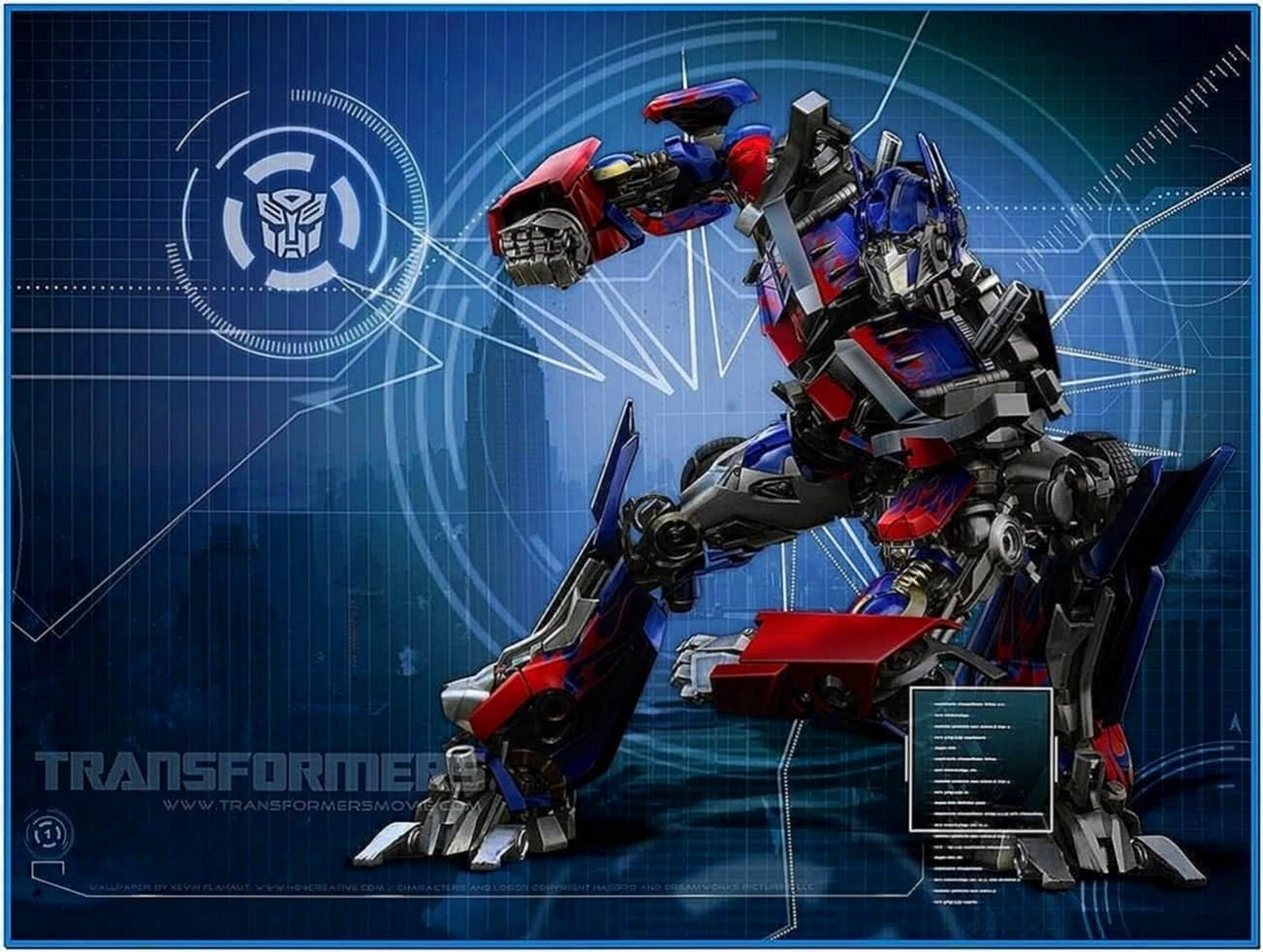 Screensaver De Transformers 3