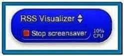 Screensaver Desktop Mac Widget