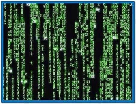 Screensaver Di Matrix Windows 7