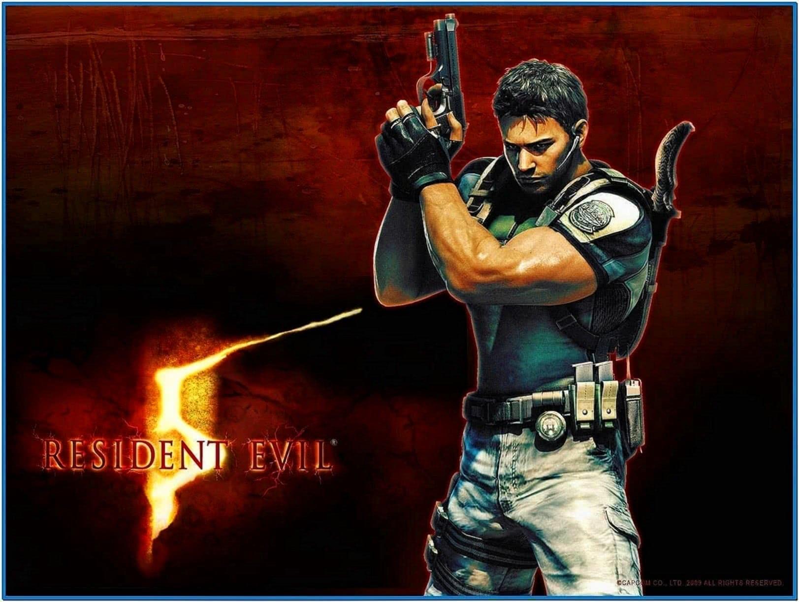 Screensaver Do Resident Evil 5