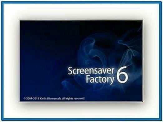 Screensaver factory 6.3