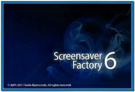 Screensaver Factory Enterprise 6.0.0.52