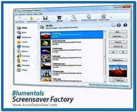 Screensaver Factory Enterprise 6.1