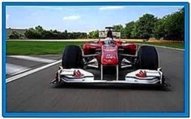 Screensaver Ferrari F1 2020
