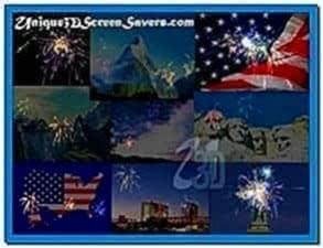 Screensaver Fireworks Extravaganza