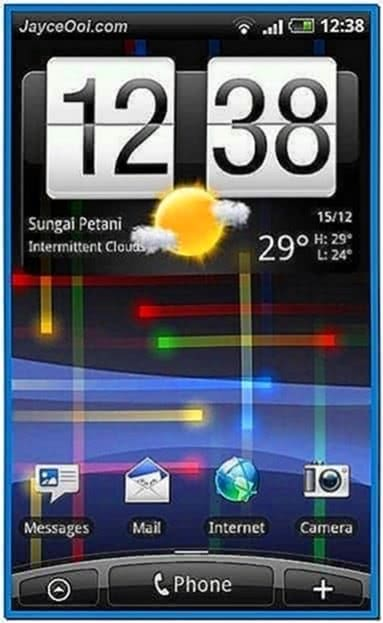 Screensaver for android 2.3
