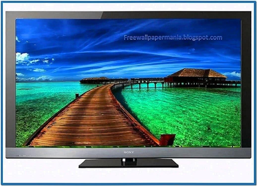 Screensaver for lcd tv