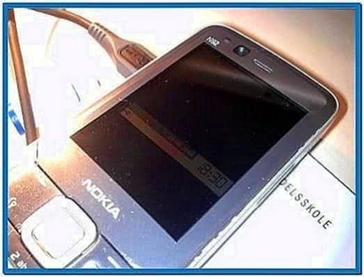 Screensaver for N82