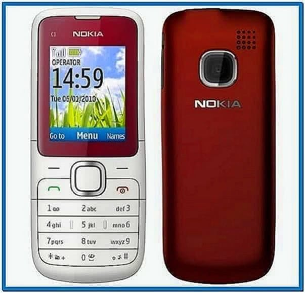 Screensaver for Nokia c1 01