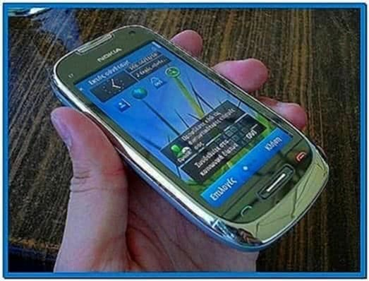 Screensaver for Nokia c7-00