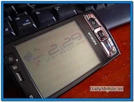 Screensaver for Nokia n73