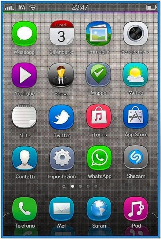 Screensaver for Nokia n8 belle