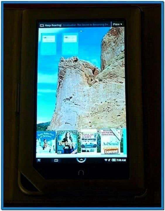 Screensaver for Nook Color