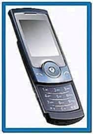 Screensaver for Samsung Mobile U600