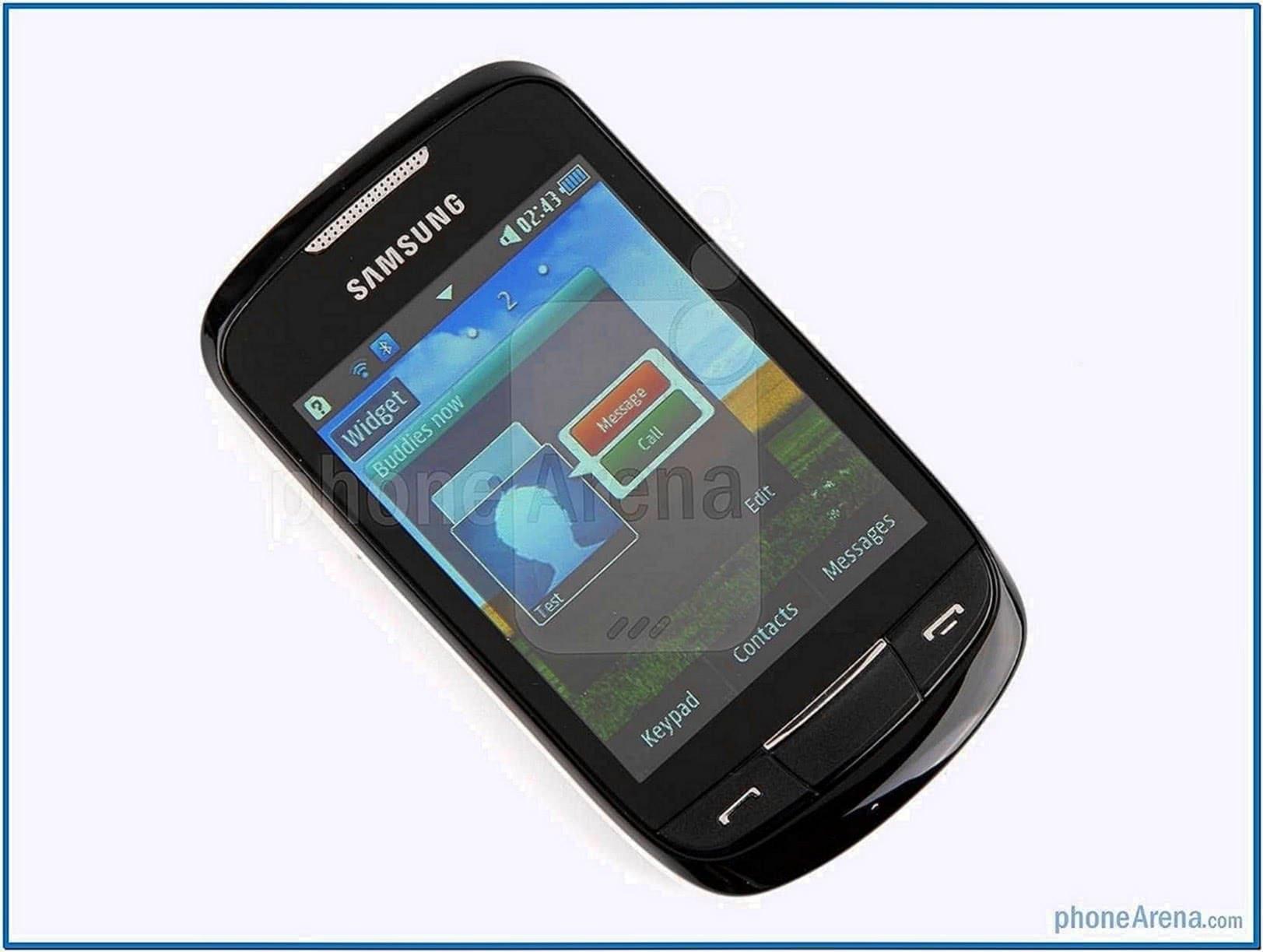 Screensaver HP Samsung Corby 2