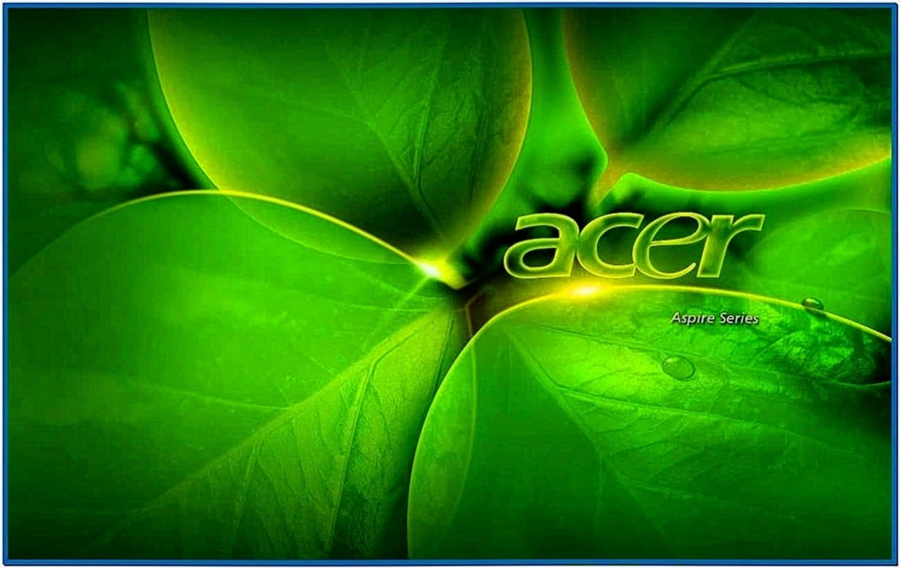 Screensaver Laptop Acer