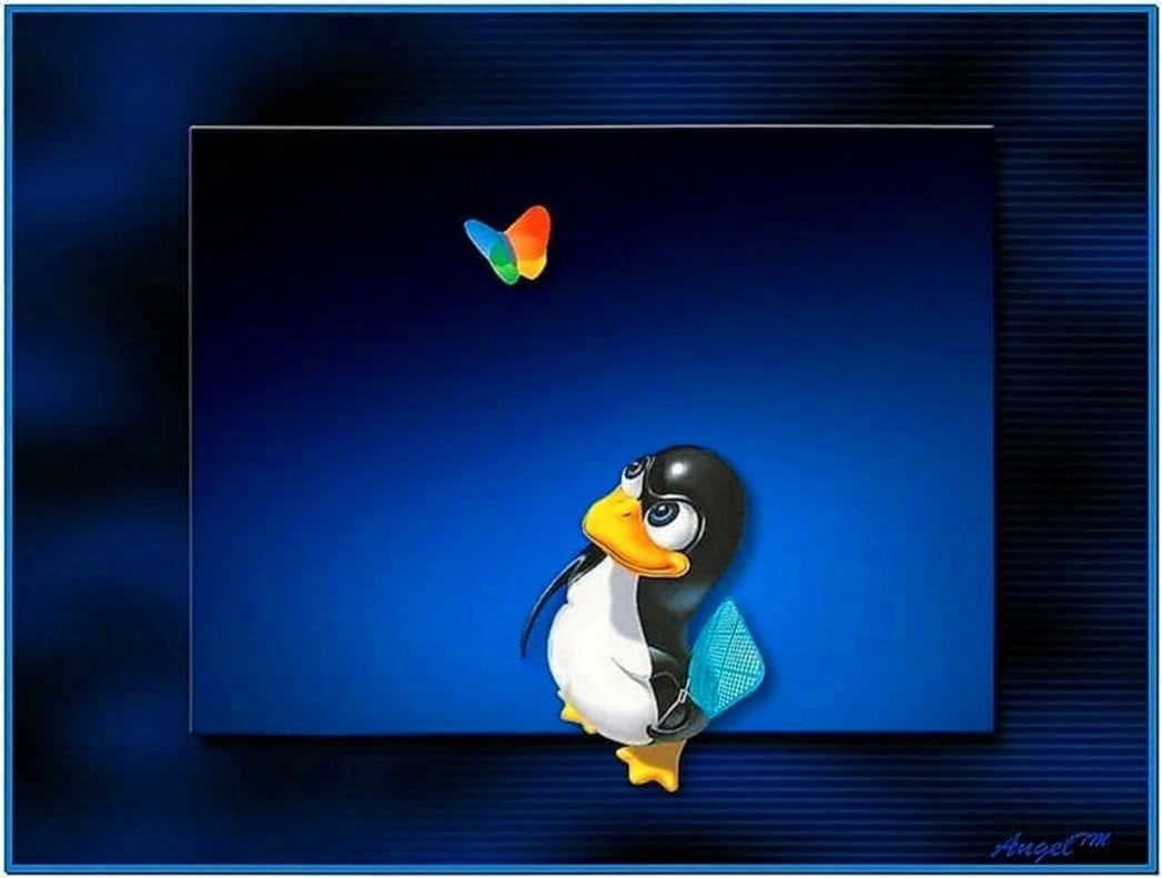Screensaver Linux Windows