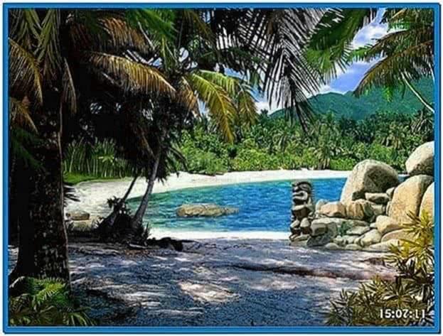 Screensaver Lost on Island